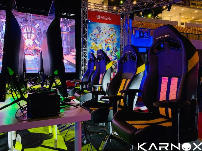 KARNOX and Nintendo cooperate to MOCHE XL ESPORTS 2019