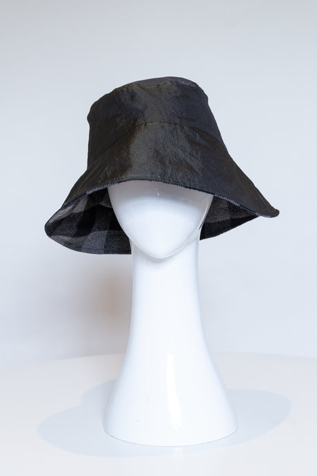 Bucket Rain Hat - Dark Green by Felicity Northeast Millinery