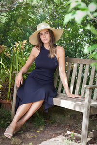 Natural panama Fedora  by Felicity Northeast Millinery