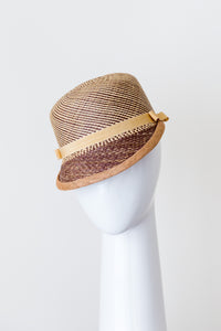 Panama Cap is shades of natural and browns
