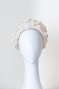 Scattered blossom raised headband