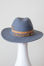 Load image into Gallery viewer, PORTO FEDORA-Grey felt fedora with cork band