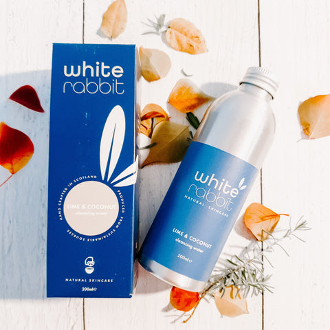 LIME AND COCONUT CLEANSING WATER  | WHITE RABBIT