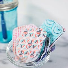 REUSABLE COTTON PADS | MIXED PRINTS
