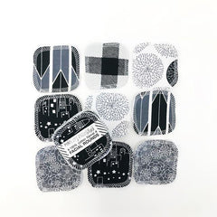 REUSABLE COTTON PADS | BLACK