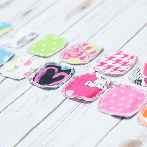 20 REUSABLE COTTON PADS | MIXED PRINTS