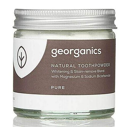 NATURAL TOOTH POWDER | FLUORIDE FREE | VEGAN