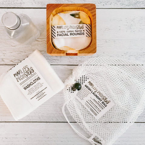 Marley's Monsters Ultimate Facial Bathroom Set - Eco Friendly, Plastic Free