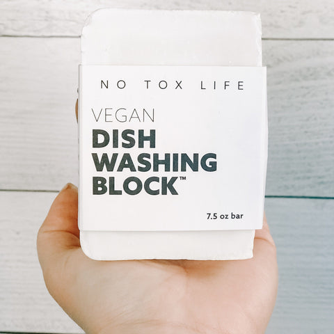 Zero Waste Dish Washing Block™ Bar No Tox Life