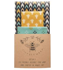 BEES WAX FOOD WRAP | SET OF 3