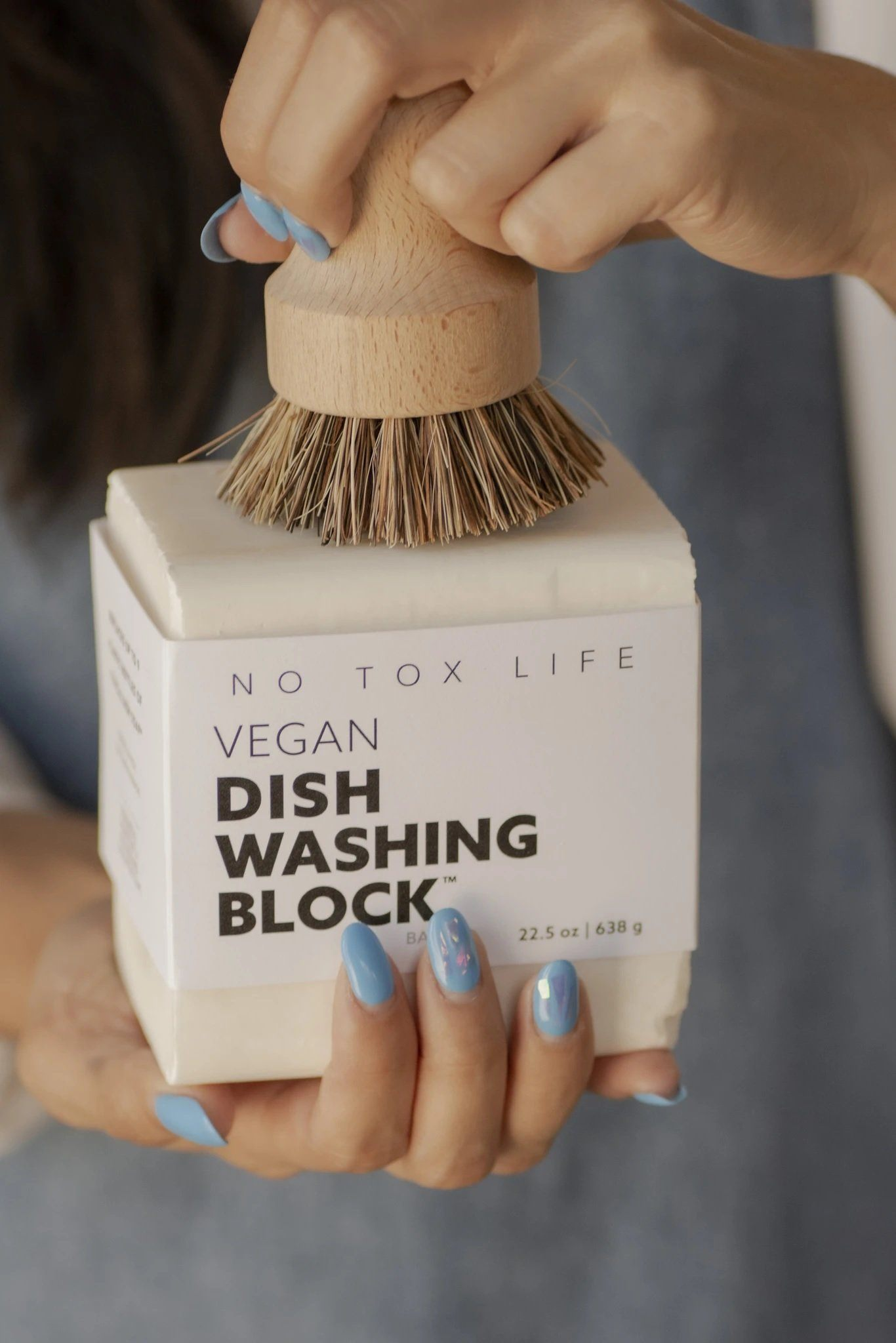 XL VEGAN DISH WASHING BLOCK | NO TOX LIFE