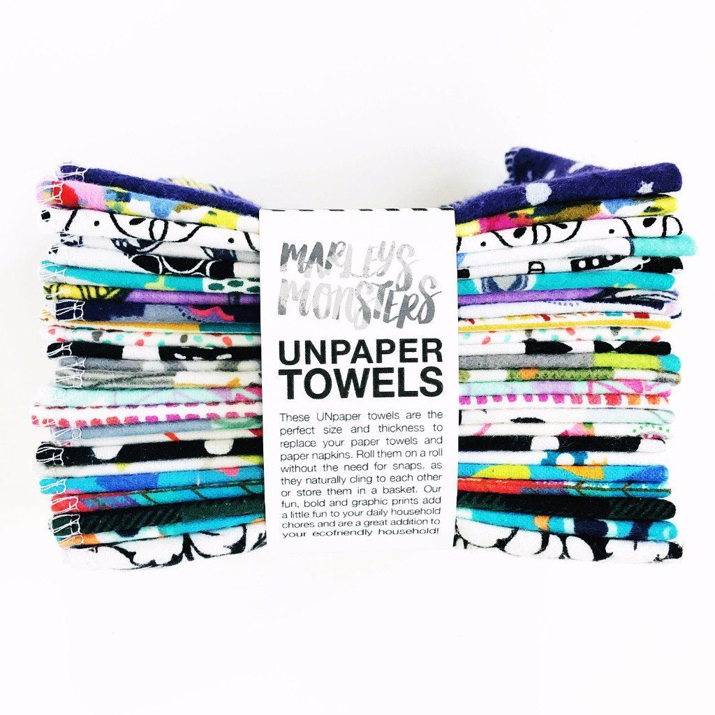 UNPAPER TOWELS 12 PACK | SURPRISE PRINTS