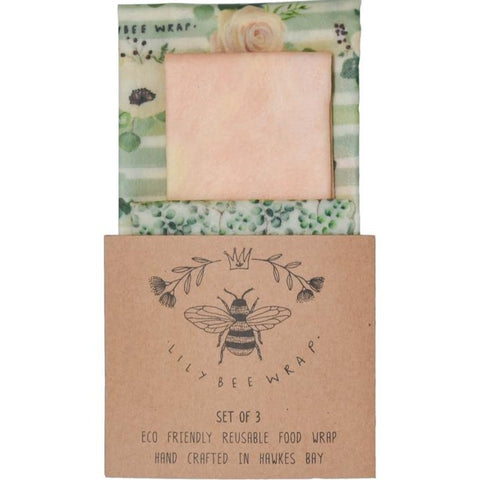 BEES WAX FOOD WRAPS ORGANIC COTTON CLING WRAP