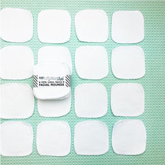 20 REUSABLE COTTON PADS | WHITE