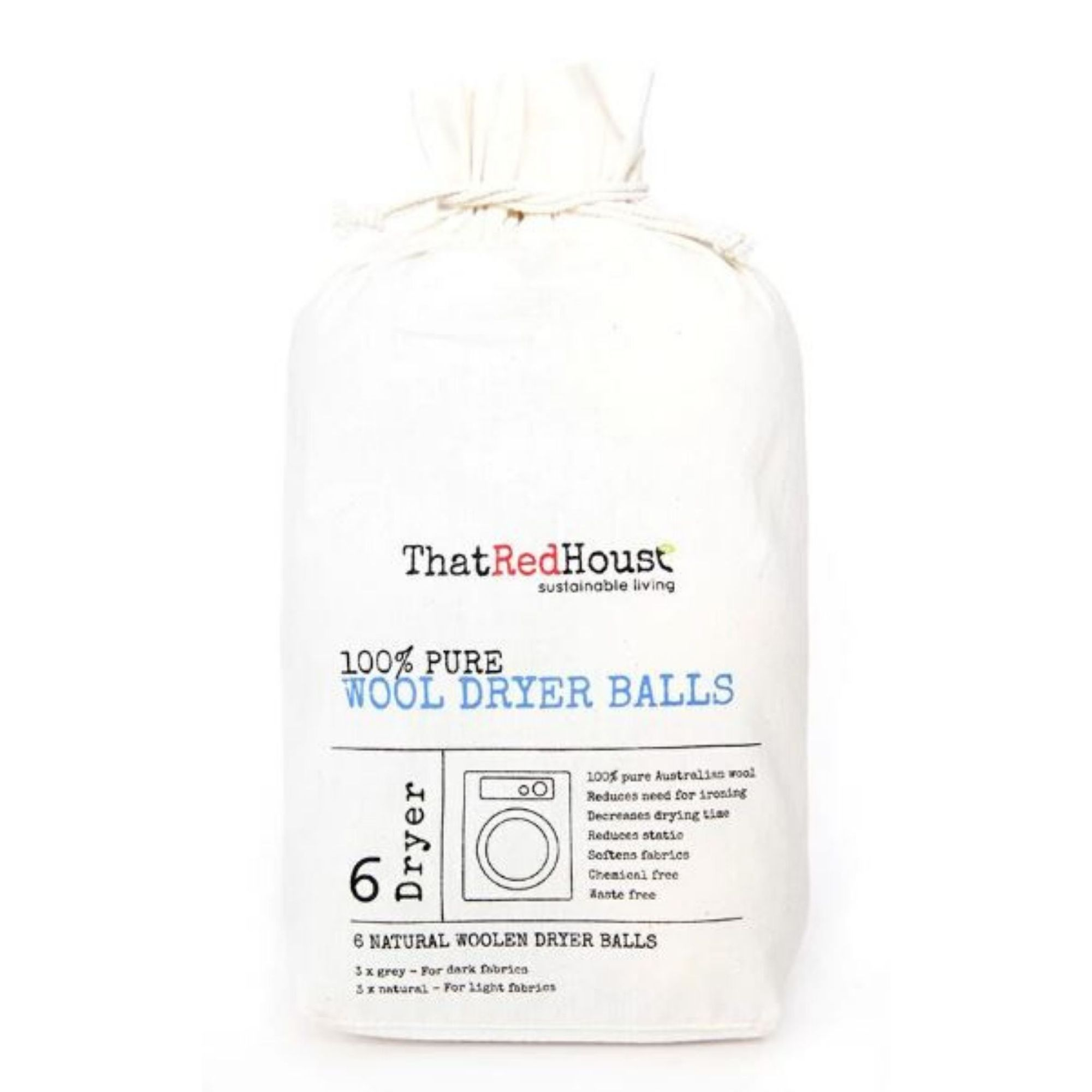 WOOL DRYER BALLS | 100% AUSTRALIAN WOOL