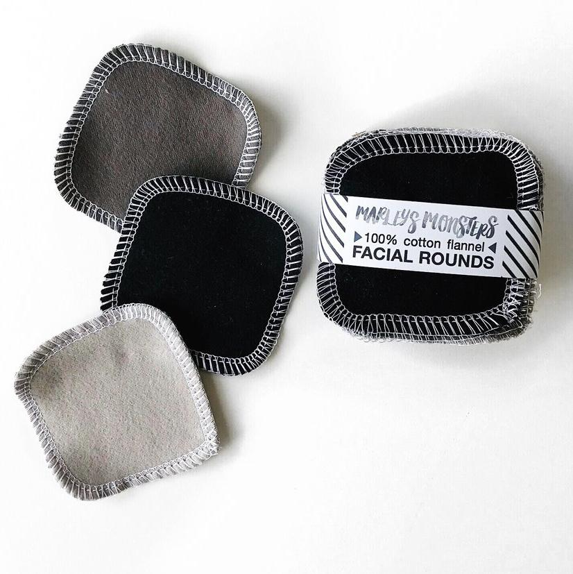 20 REUSABLE COTTON PADS | MIXED GREYS