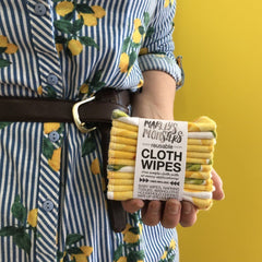 12 CLOTH WIPES | VINTAGE LEMON