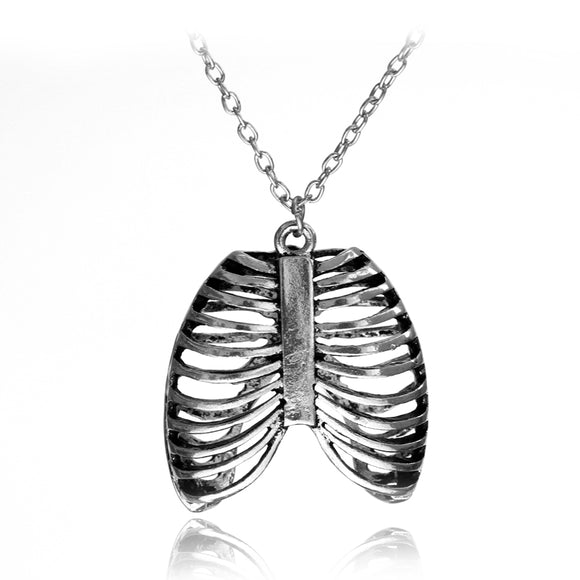 See My Love Rib Cage Necklace