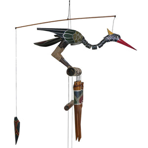 Cohasset Abby  Bird Bamboo  Wind Chime - Wind Chime Fun