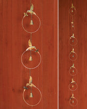 Flamed Hummingbird Rain Chain by Ancient Graffiti - Wind Chime Fun