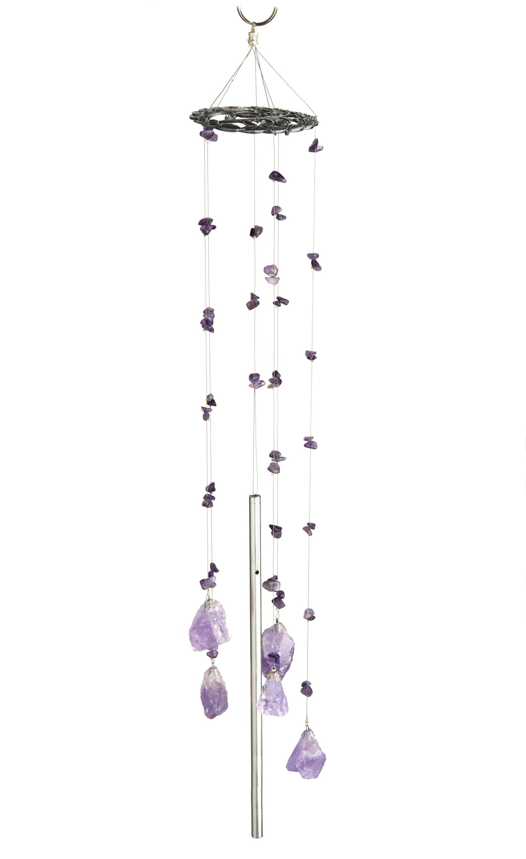 Feng Shui Amethyst Wind Chime - Wind Chime Fun