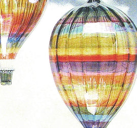 Handcrafted Glass Hot Air Balloon Suncatcher