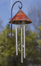 Sunny Sprite Window  Solar Chime - Wind Chime Fun