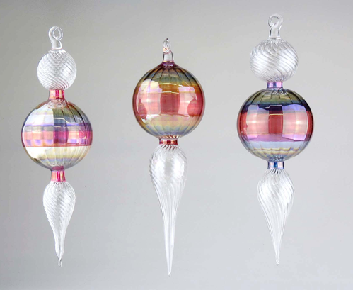 Handcrafted Elegant Glass Classic Ornament or Suncatcher - Wind Chime Fun
