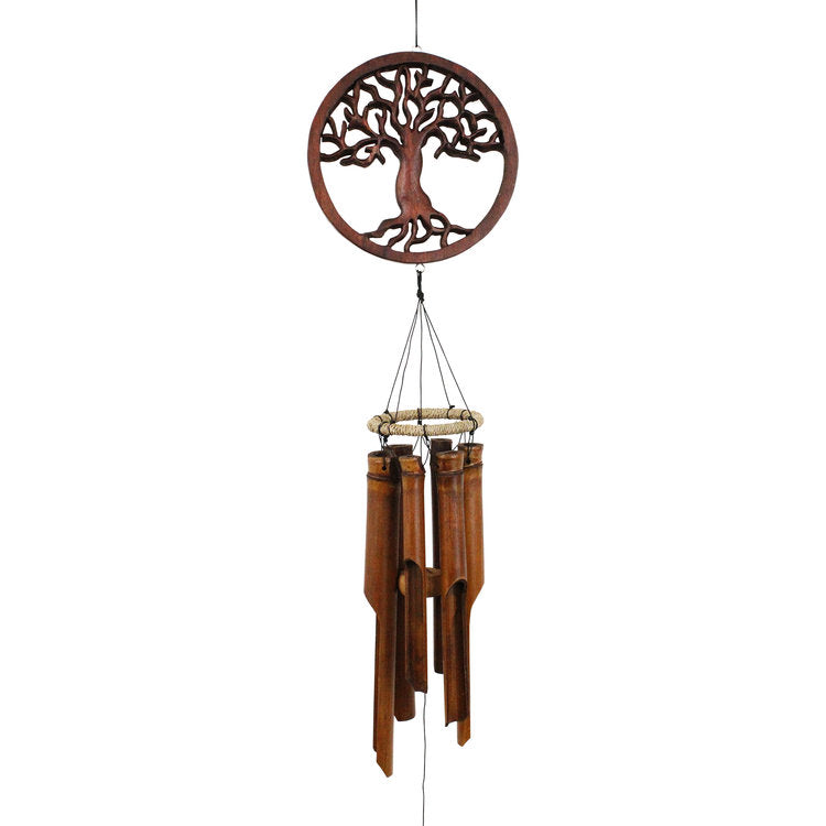 Tree of Life Bamboo Wind Chime - Wind Chime Fun