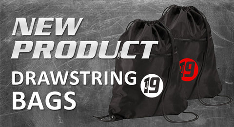 Draw String Bags - Nylon Drawstring Zipper Backpack #8888