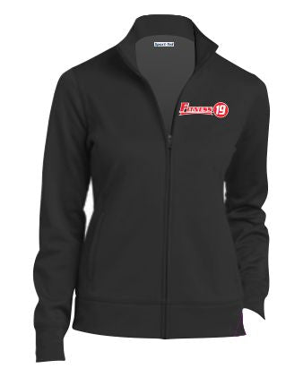 LST241 LADIES SPORT-WICK FLEECE CADET PERFORMANCE JACKET $38.00