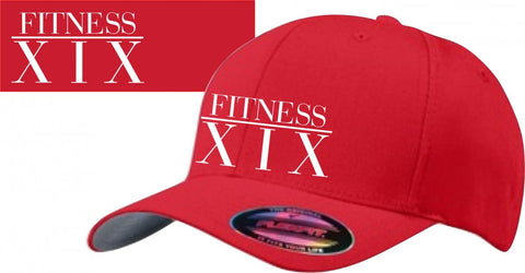 FITNESS19 Cap - Fitness XIX  - RED
