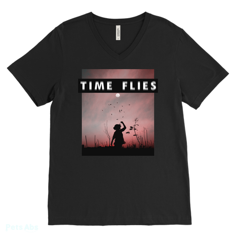 Time Flies Tee-Pets Abs Shop
