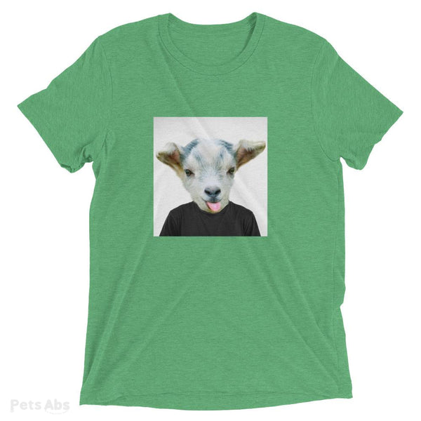 The Goat Tri-blend-Pets Abs Shop