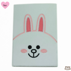 CONY LINE FRIENDS CUTE PLUSH NOTEBOOK FOX PAPERWORKS