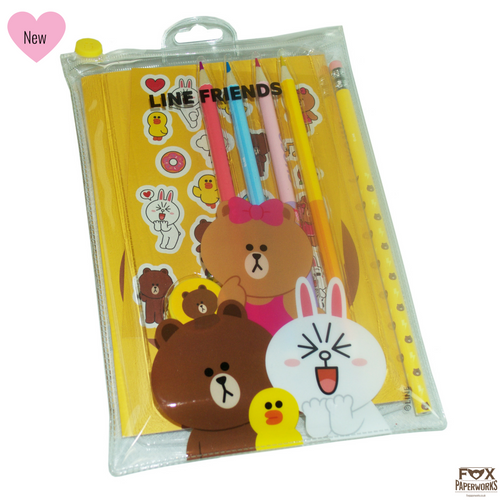 LINE FRIENDS Buy Korean stationery online in UK Fox paperworks