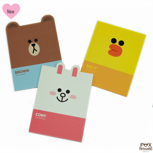 LINE FRIENDS NOTEPADS Cute stationery Fox Paperworks