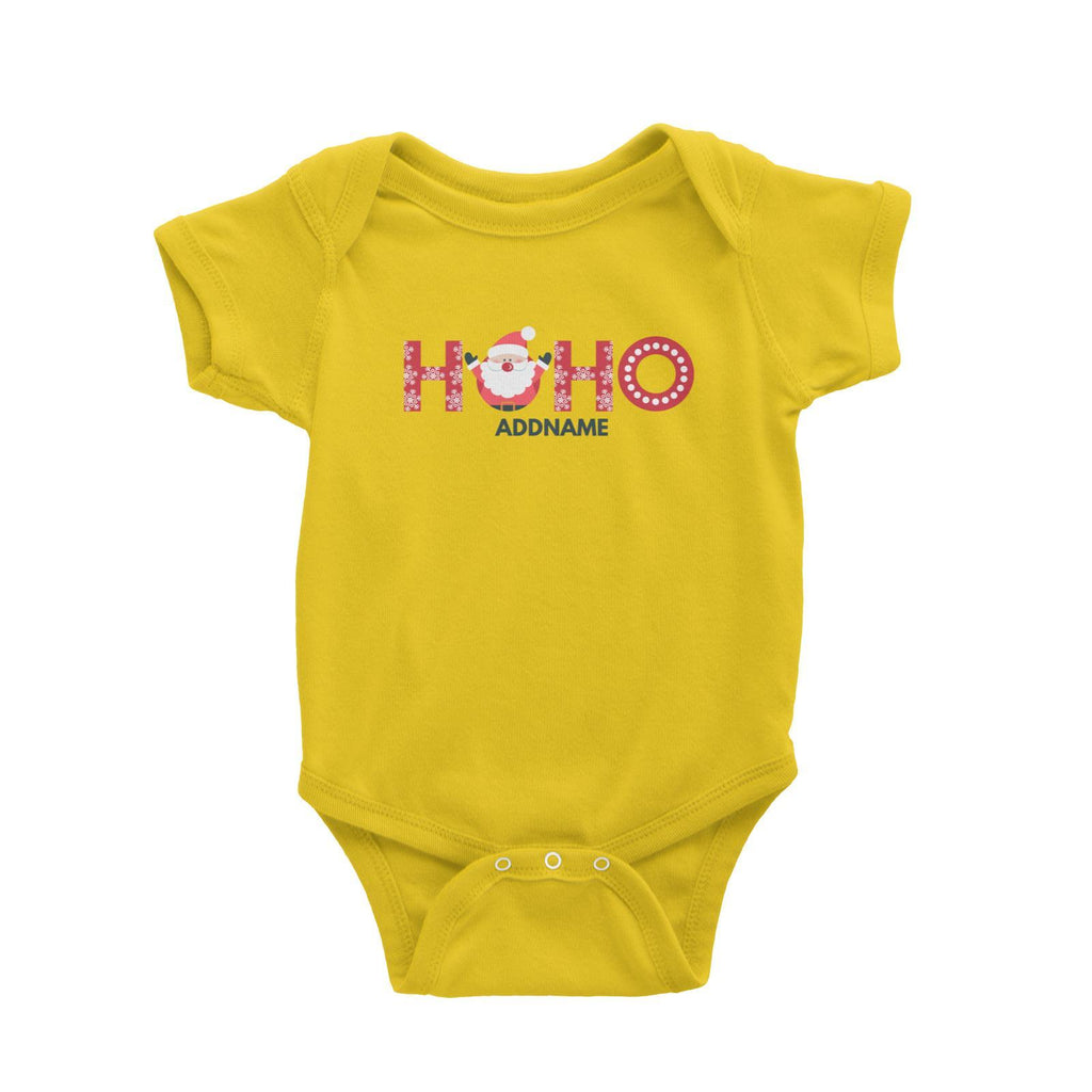 Christmas Hoho Customizable Romper