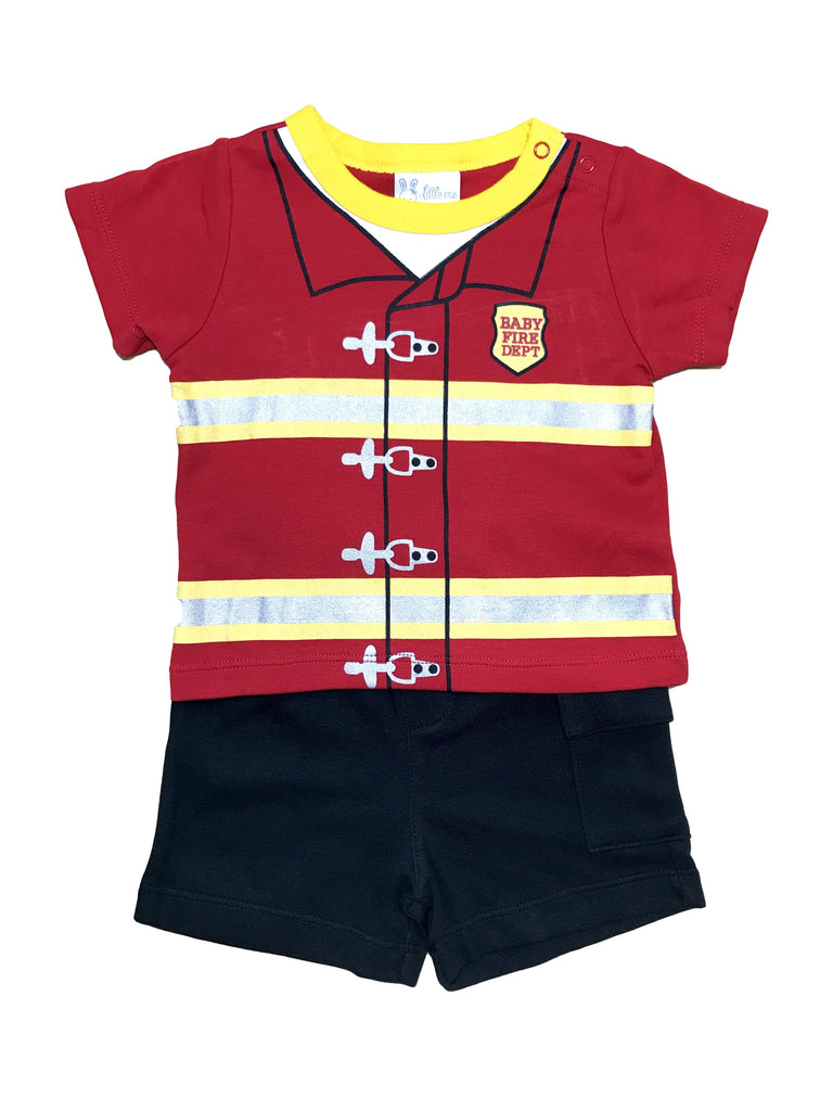 Baby Fireman - Two Piece Suit