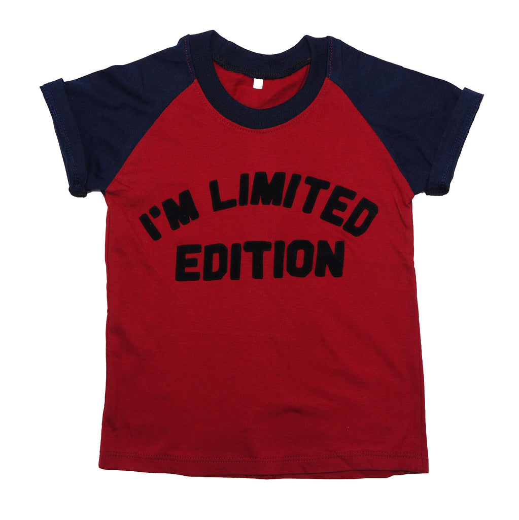 I'm Limited Edition Cotton T-Shirt Red