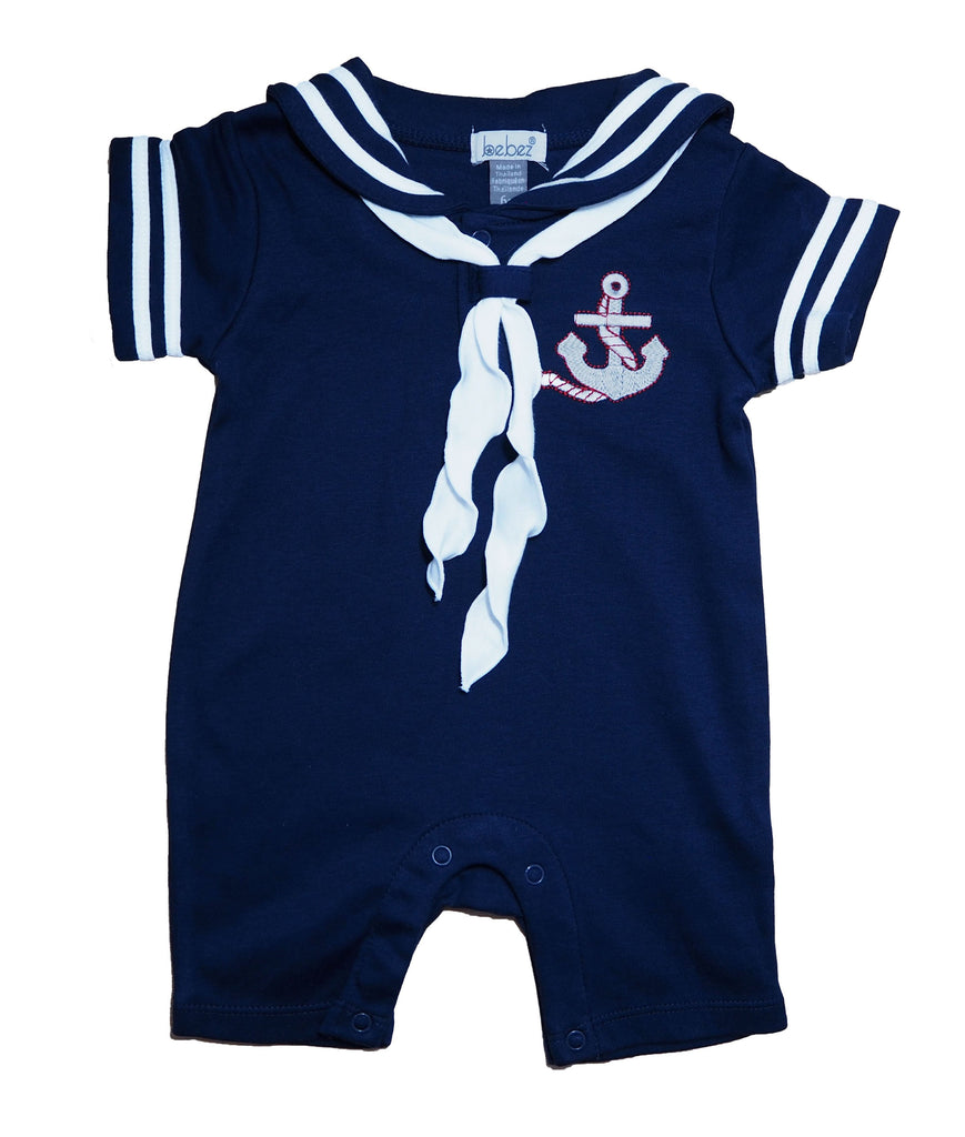 Navy Blue Sailor Suit