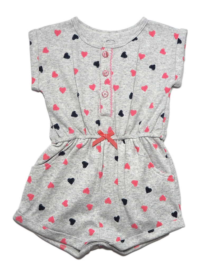 Fun Hearts T-Shirt Romper