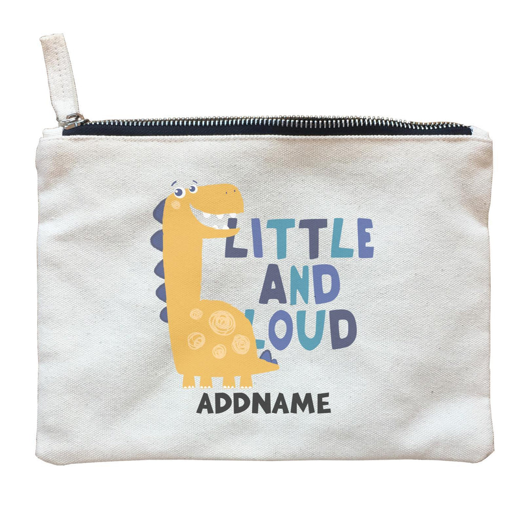 Little and Loud Dinosaur Zipper Pouch