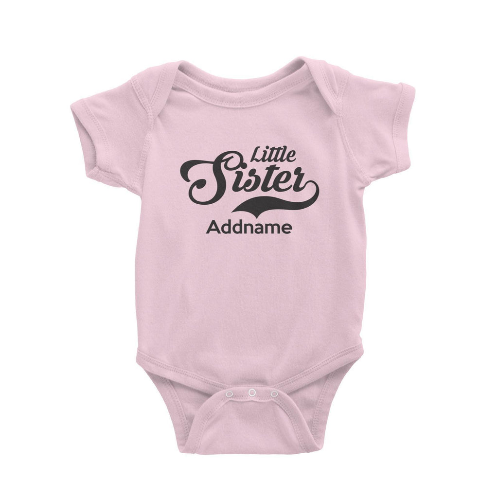 Little Sister Customizable Romper