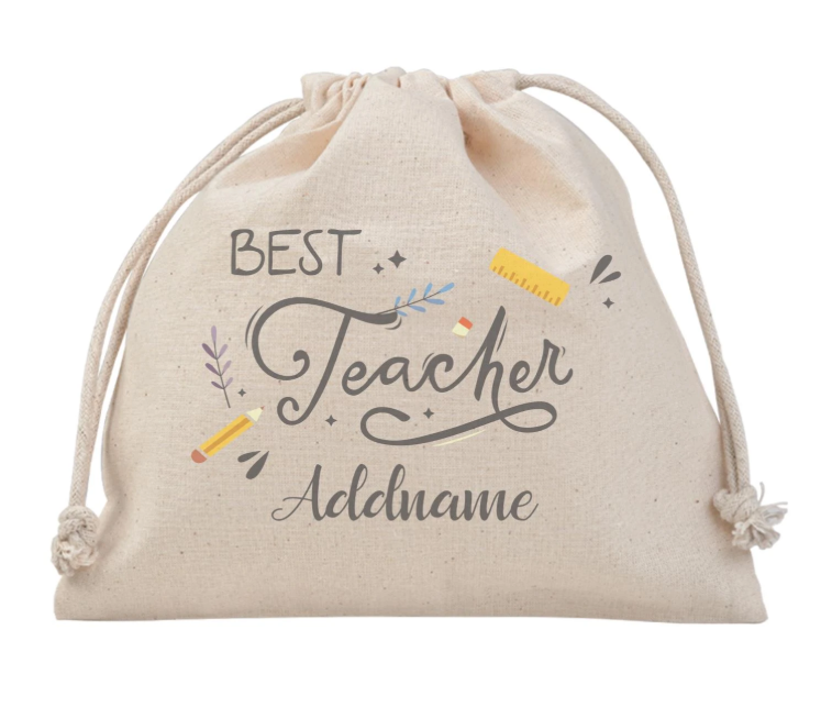 Best Teacher Stationery Customizable Satchel