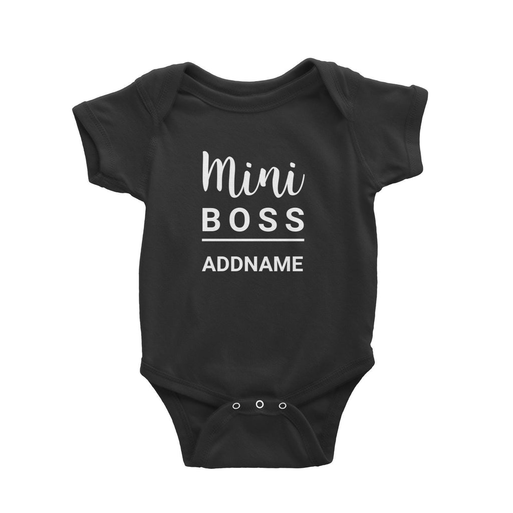 Mini Boss Customizable Romper