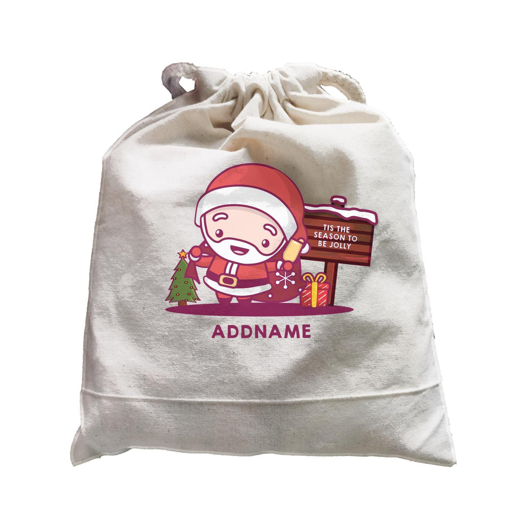 Jolly Santa Satchel Bags