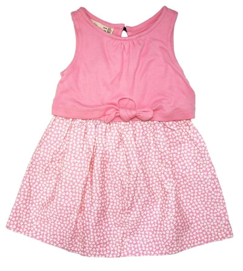 Sweet Pink Baby Doll Dress