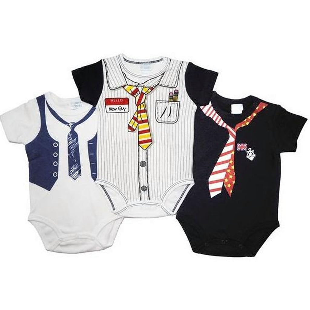 Little Mister- 3 Piece Romper Set