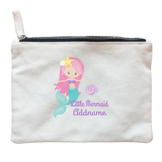 Little Mermaid Seashell Zipper Pouch
